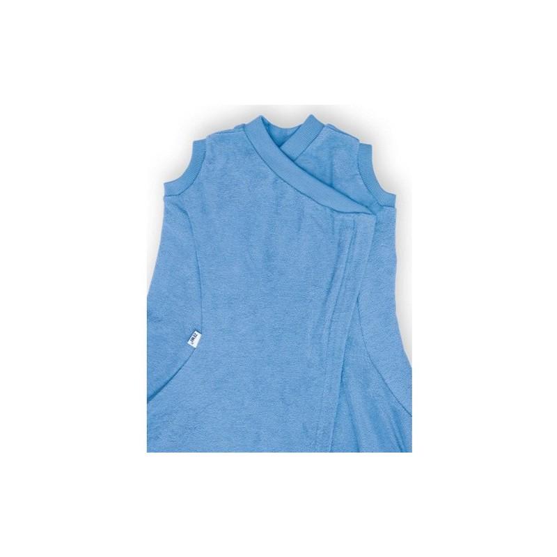 Couverture Zewi-Fix avec gilet bleu