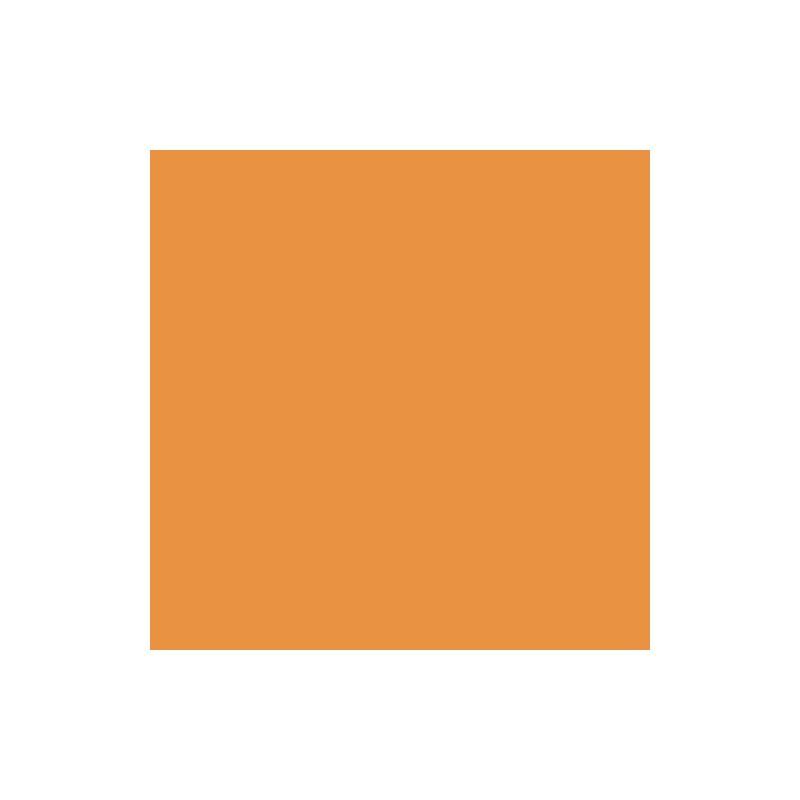 Drap housse jersey orange