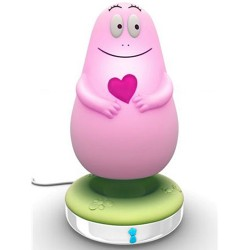 Veilleuse Barbapapa Lumilove rose
