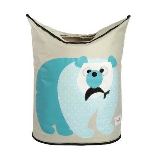 Panier à linge ours polaire