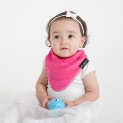 Bandana Wonder bib rose