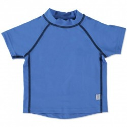 T-shirt anti-uv bleu