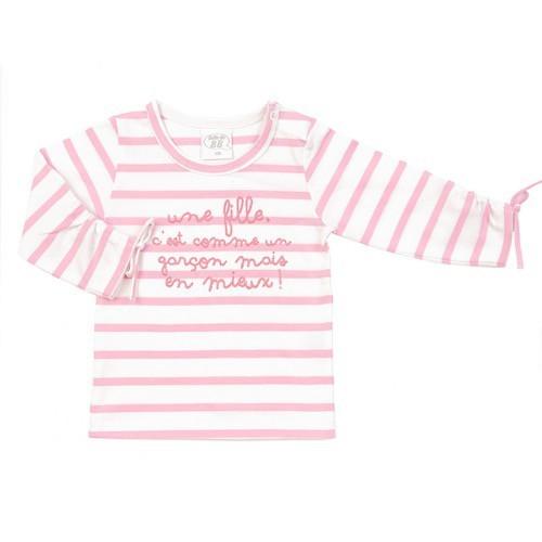 T-shirt Une fille c'est comme...