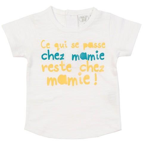 T-shirt Chez mamie