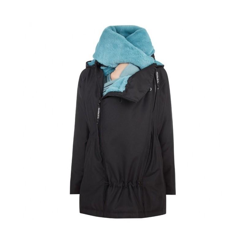 Veste de portage noir-bleu