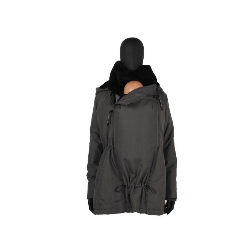 Veste de portage noir-gris