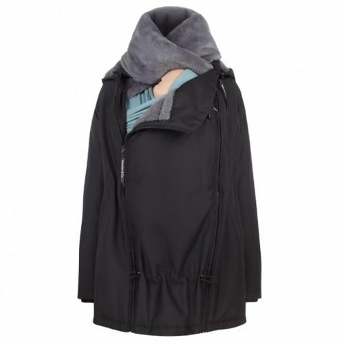 Veste de portage noir-gris charbon