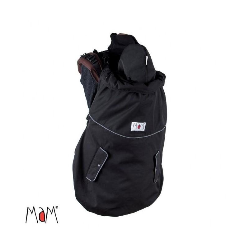 Couverture de portage MaM Deluxe noire - 4 saisons