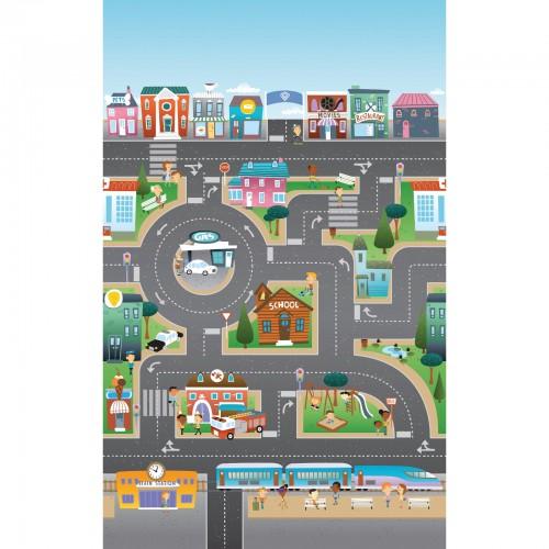 Mega tapis City-Ocean, 2 côtés