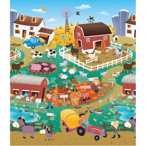 Mega tapis City-Farm, 2 côtés
