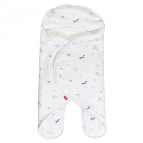 Babynomade CORAL FLEECE 0-6m