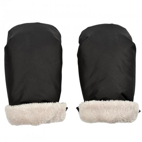 Moufles noirs pour poussette