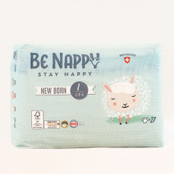 Couches Be Nappy - New Born taille 1 (2-5kg)