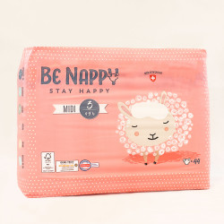 Couches Be Nappy - Midi taille 3 (4-9kg)
