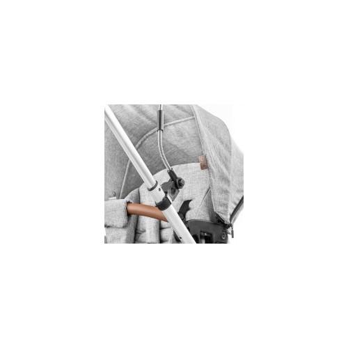 Ombrelle pour poussette gris chiné