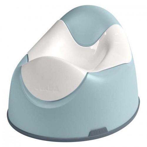 Pot ergonomique bleu
