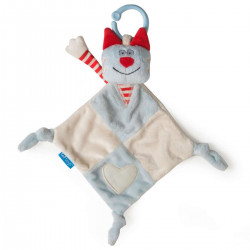 TAF-TOYS Doudou chat rouge