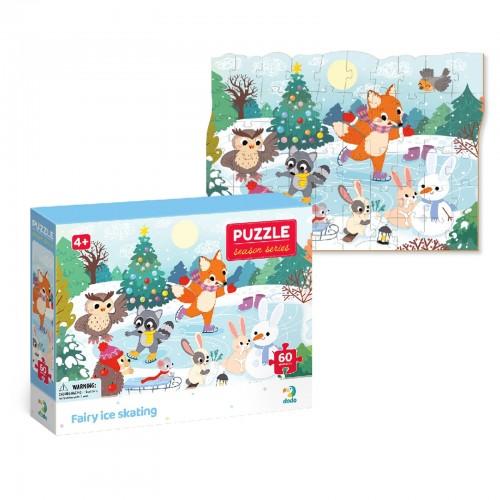 "Puzzle ""Patinage 60..."